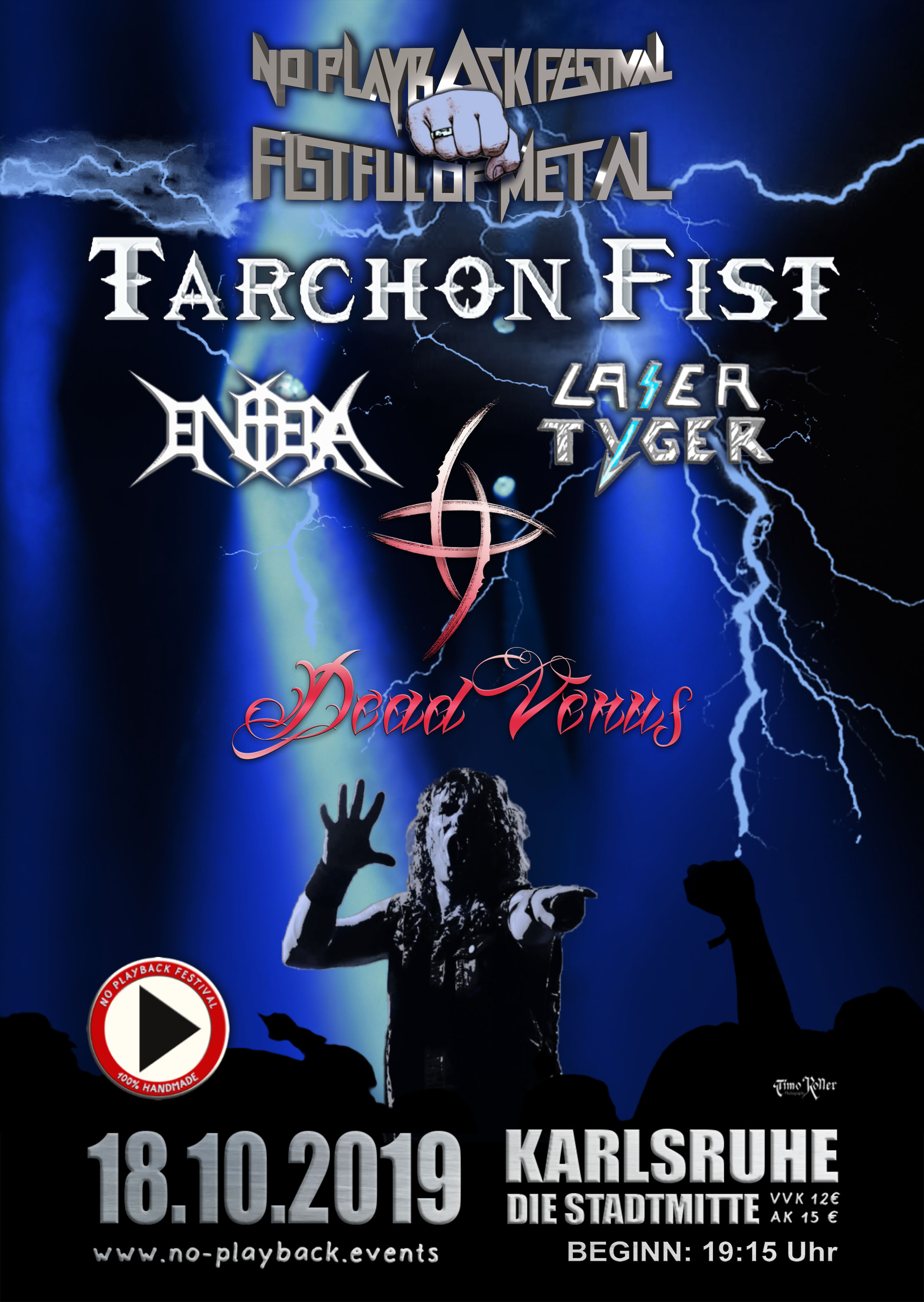 No Playback Festival presents Tarchon Fist
